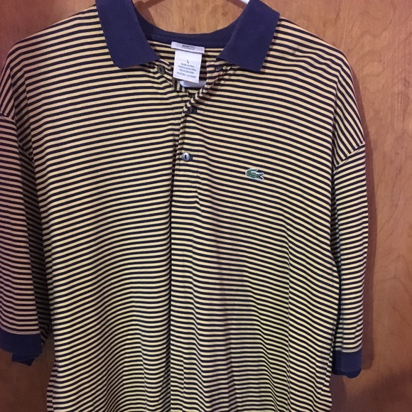 Lacoste Other - Lacoste stripe Polo Shirt